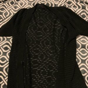 Black and Grey cardigans